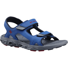 Columbia Techsun Vent Sandals Kids stormy blue/mountain red